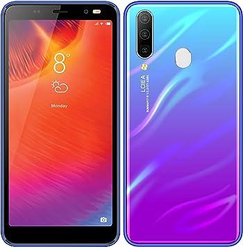 Móviles y Smartphones Libres,HyRich® Android GO Teléfono Móvil Libre (MTK6572, 5.5 Pantalla HD LCD, 1GB RAM+4GB ROM, 5.0MP Cámaras, Dual SIM) (A60 Azul): Amazon.es: Electrónica