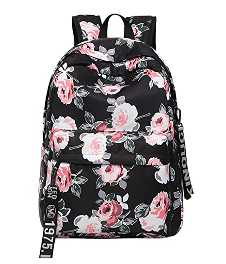 6b0b2a882a Image Unavailable. Image not available for. Color  School Backpack Travel  Laptop Backpack Hiking Daypack Student Shoulder Bag ...