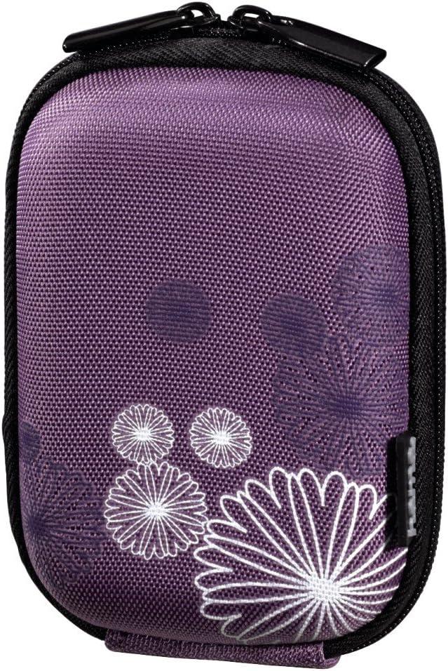 Hama 40 G Flower Hardcase Für Digitalkamera Violett Kamera