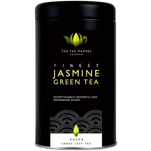 13 opinioni per The Tea Makers of London Natural Chinese Jasmine Green Loose Leaf Tea 125 g