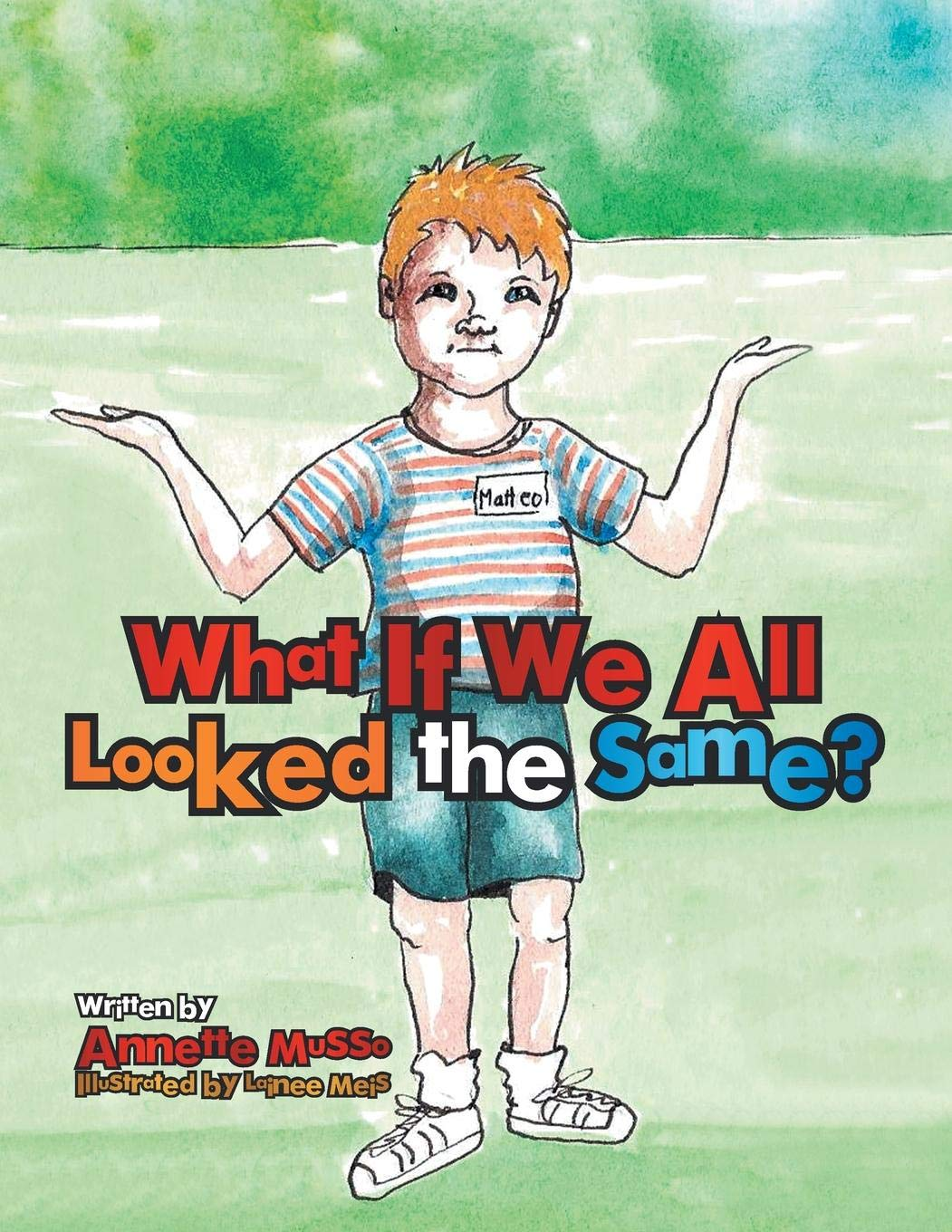 Download What If We All Looked the Same? pdf