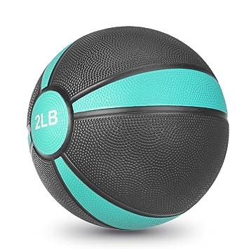 JBM balón medicinal (2LBS 4lbs 6lbs 8lbs 10lbs 12lbs 15lbs) Slam ...