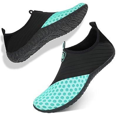 843b92f98371ec Barerun en Women Water Shoes Quick Dry Barefoot Aqua Socks Swim Shoes Pool  Beach Walking Running
