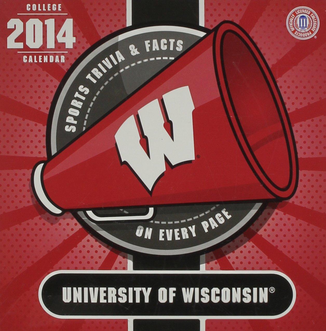 Wisconsin Badgers 2014 Calendar ebook