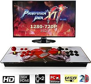 Barbella 2706 Pandora Treasure 2D Retro Arcade Game Console Machine 1280720p Full HD USB & TF/Micro SD Ports   HDMI/VGA/USB Audio Output