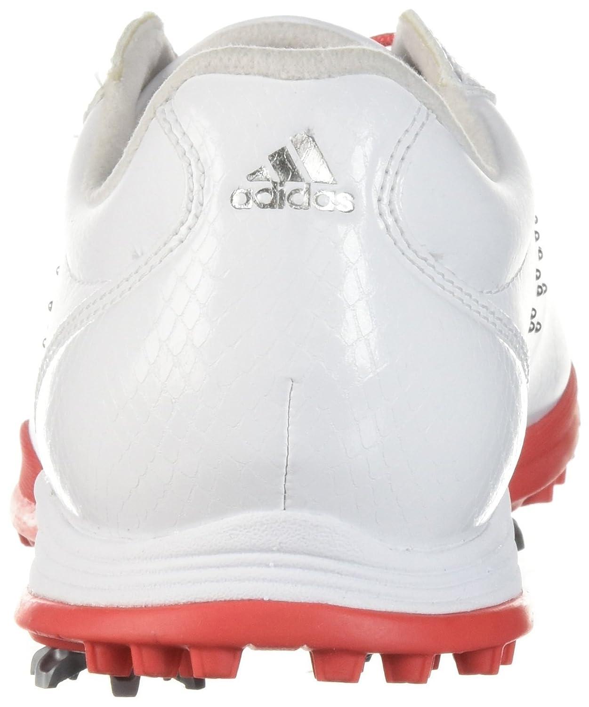 newest d3a44 67385 Zapatillas de golf adidas W Adipure DC de adidas para mujer Ftwr Blanco    Real Coral   Silver Met.