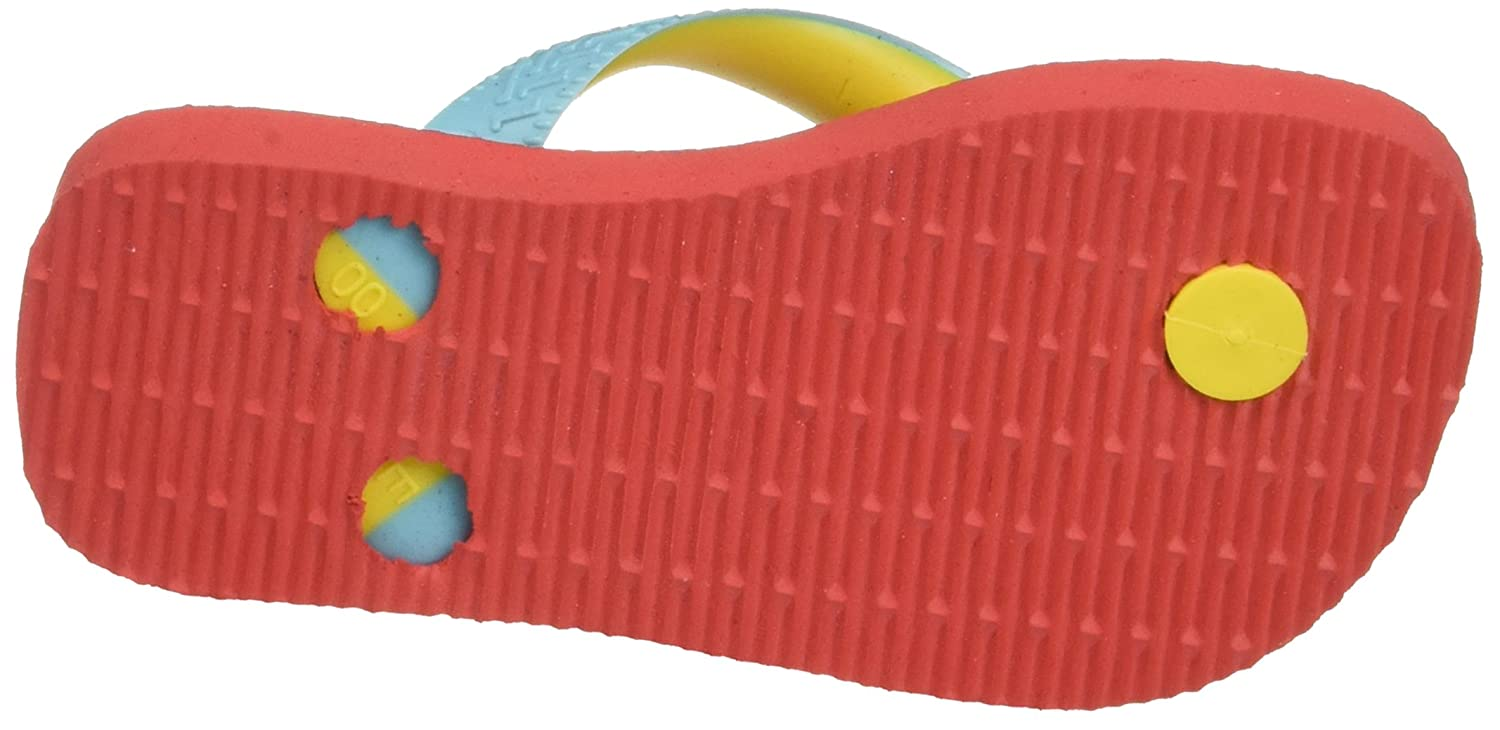 Coral New 6024 Infradito Unisex Bambini Havaianas Top Mix Multicolore 25//26 EU