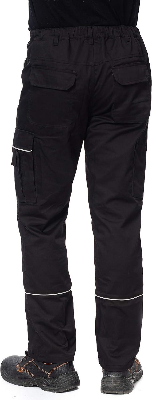 Homme Plusieurs Couleurs r/ésistant//Poches Stenso Prisma/® Pantalon de Travail Cargo