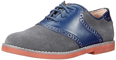 Amazon Com Florsheim Kids Kennett Jr Saddle Shoe Toddler Little