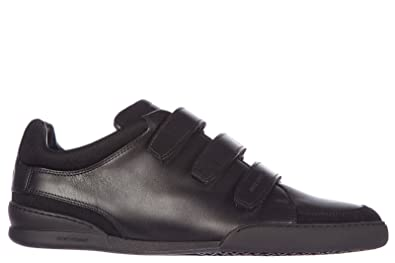 Dior Chaussures Baskets Sneakers Homme en Cuir b18 Noir EU 43 3SN114VQH 2830f864c662