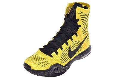 Nike Men's Kobe X Elite Coda, TOUR YELLOW/BLACK-VOLT, ...