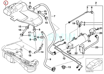 Amazon Com Bmw Genuine Expansion Tank Automotive