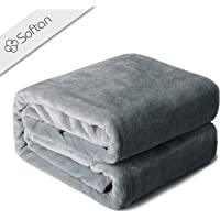 softan Fleece Blanket Lightweight Super Soft Non Shedding Microfiber Ultra Luxurious Plush Blanket