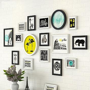 Foto Wandrahmen Wohnzimmer Gemälde, Fotogalerie Rahmen Sets Von 13  Schlafzimmer Restaurant Malerei Wandmalereien Sofa Hintergrund