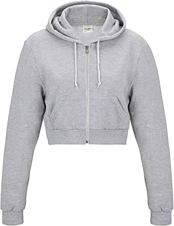 AWDis Just Hoods Womens Girlie Heather Sweatshirt Jumper