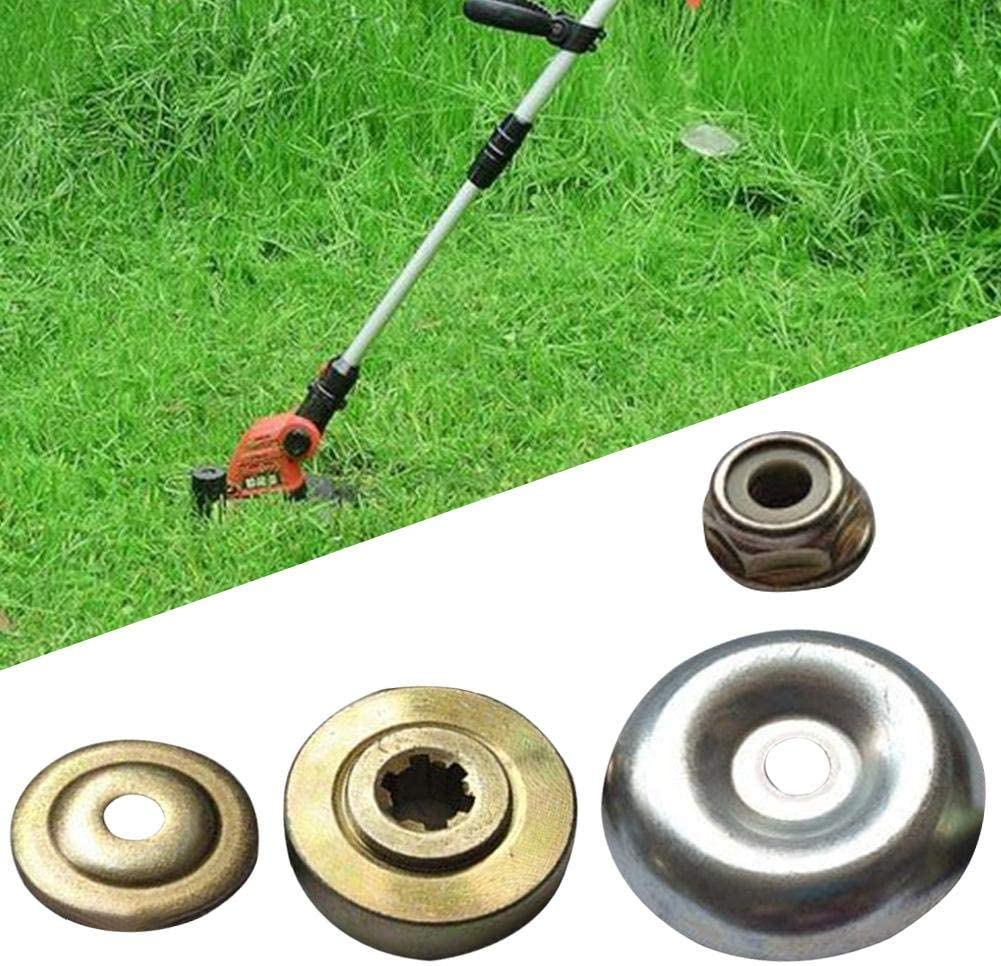 ZSLGOGO Kit de fijación de la Tuerca del Adaptador de la Cuchilla del cortacésped, Accesorios de Repuesto para la Cuchilla de la Caja de Engranajes de Metal Universal del cortacésped