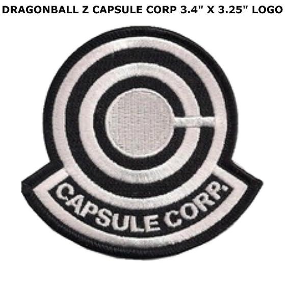 Amazon Dragon Ball Z Capsule Corp Logo Patch Clothing