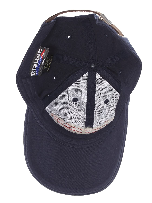 7a95e92493e Blauer USA Men s Baseball Cap - Blue - Blue - One size  Amazon.co.uk   Clothing