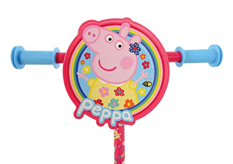 Amazon.com: MV Sports M14703 Peppa Pig Tri-Scooter: Toys & Games
