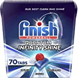 Finish Quantum Infinity Shine - 70 Count - Dishwasher Detergent - Powerball - Our Best Ever Clean and Shine - Dishwashing Tab