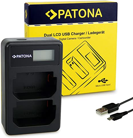 Sony bc-qz1 rápido-cargador para Sony batería np-fz100