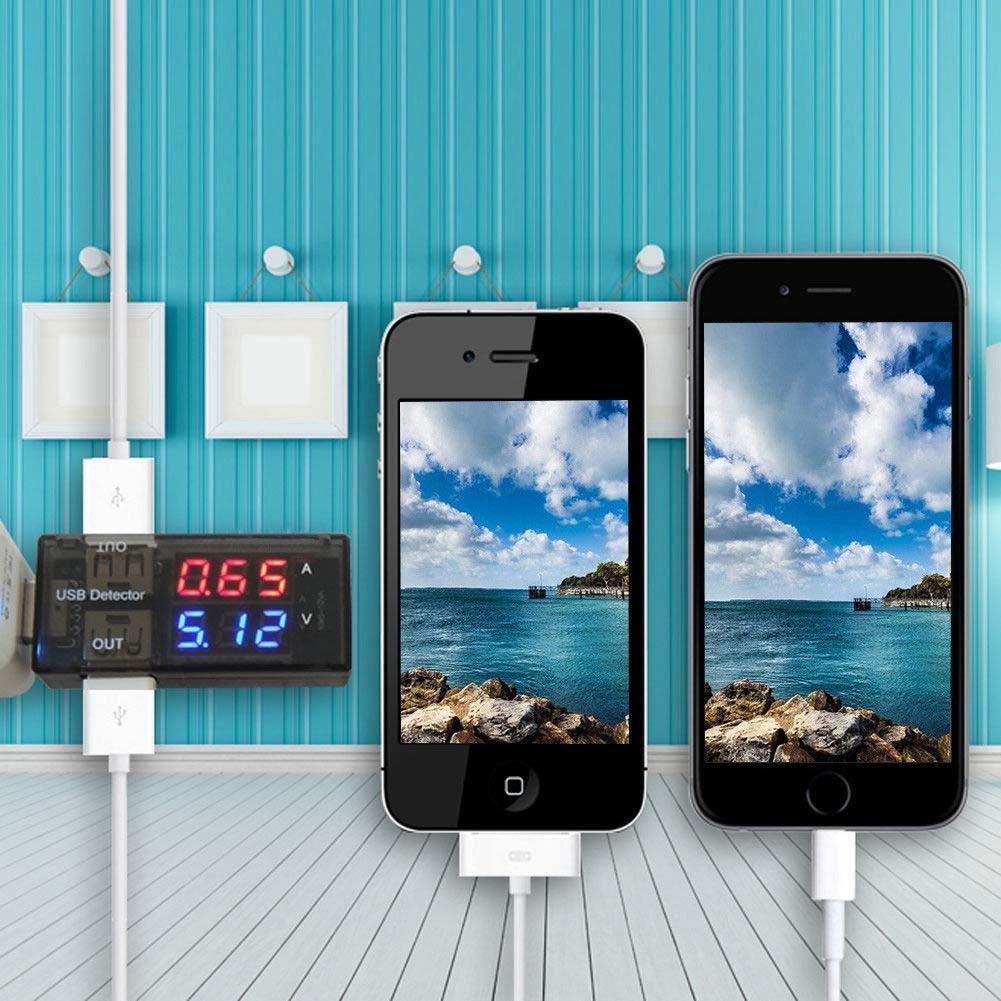 Alextry Chargeur USB Doctor Tension Courant M/ètre testeur de Batterie Mobile d/étecteur de Puissance Volmometer