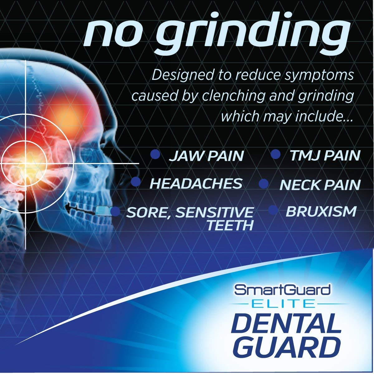SmartGuard Elite Dental Guard 2-Pack: FREE BONUS - Travel Case – TMJ Dentist Designed for Clenching & Grinding - Bruxing Splint Mouth Protector for Relief by SmartGuard (Image #5)