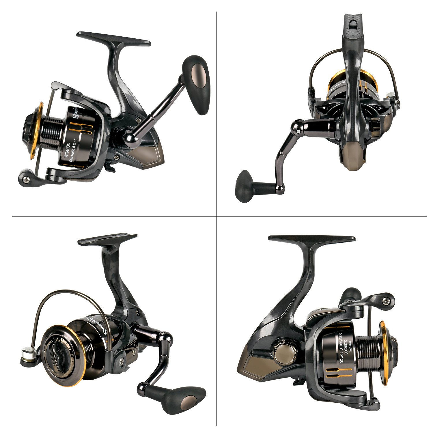 Sougayilang WQ5000 Fishing Reel