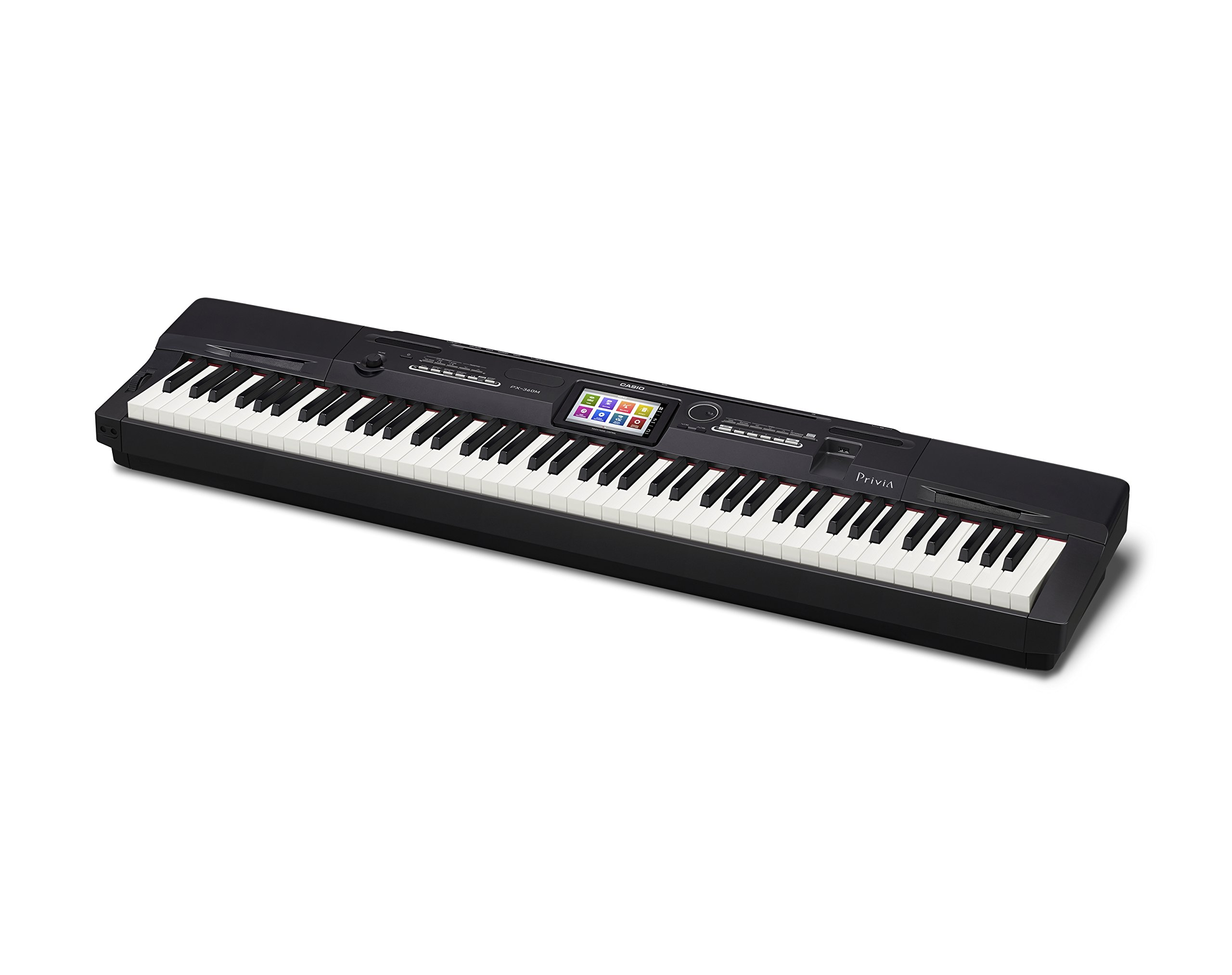 Casio Privia PX-360 Digital Piano - Black Bundle with CS-67 Stand, SP-33 Pedal, Furniture Bench, Instructional Book, Austin Bazaar Instructional DVD, and Polishing Cloth by Casio (Image #4)