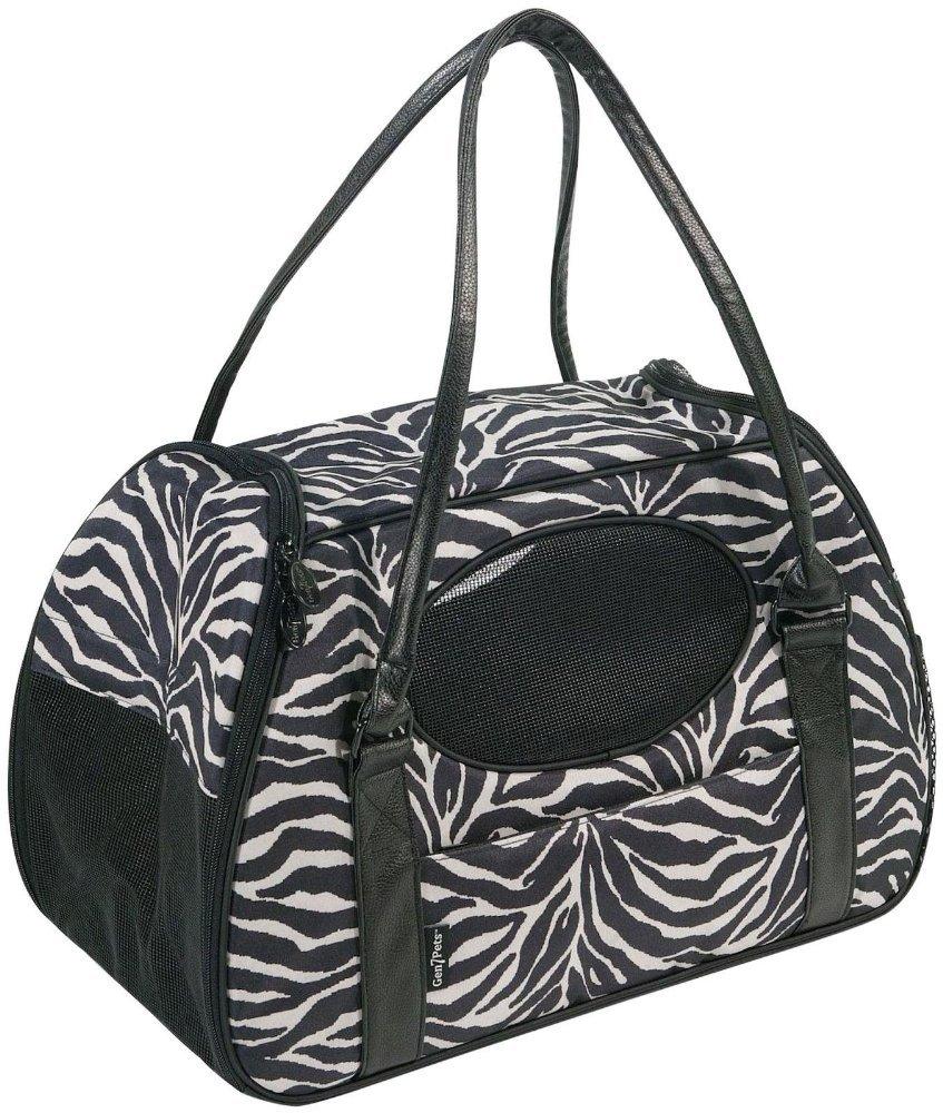 Gen 7 Pets Carry-Me Deluxe Pet Carrier-Zebra, Large