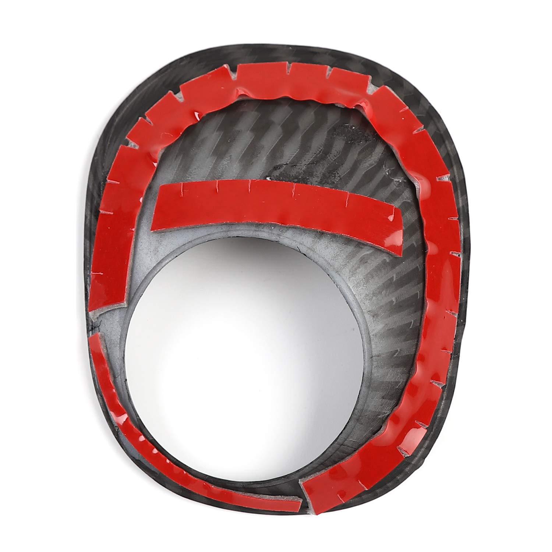 JeCar 4Runner Engine/Ignition/Switch/Button/Trim/Cover Engine Start Stop Switch Button Cover Sticker 4Runner Accessories for Toyota 4Runner 2010-2019 Carbon Fiber Pattern