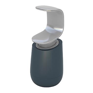 Joseph Joseph 85054 C-Pump Single-Handed Soap Dispenser, Gray