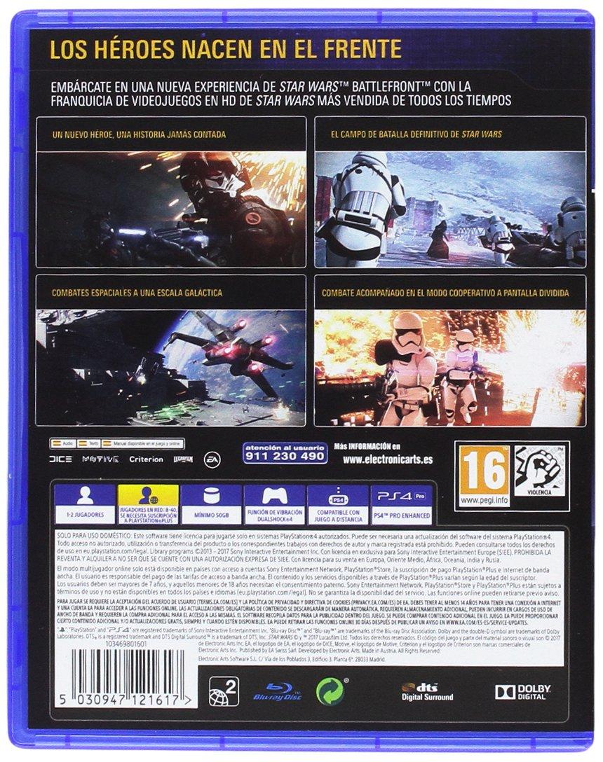 Star Wars: Battlefront II - Edición estándar: PlayStation 4 ...