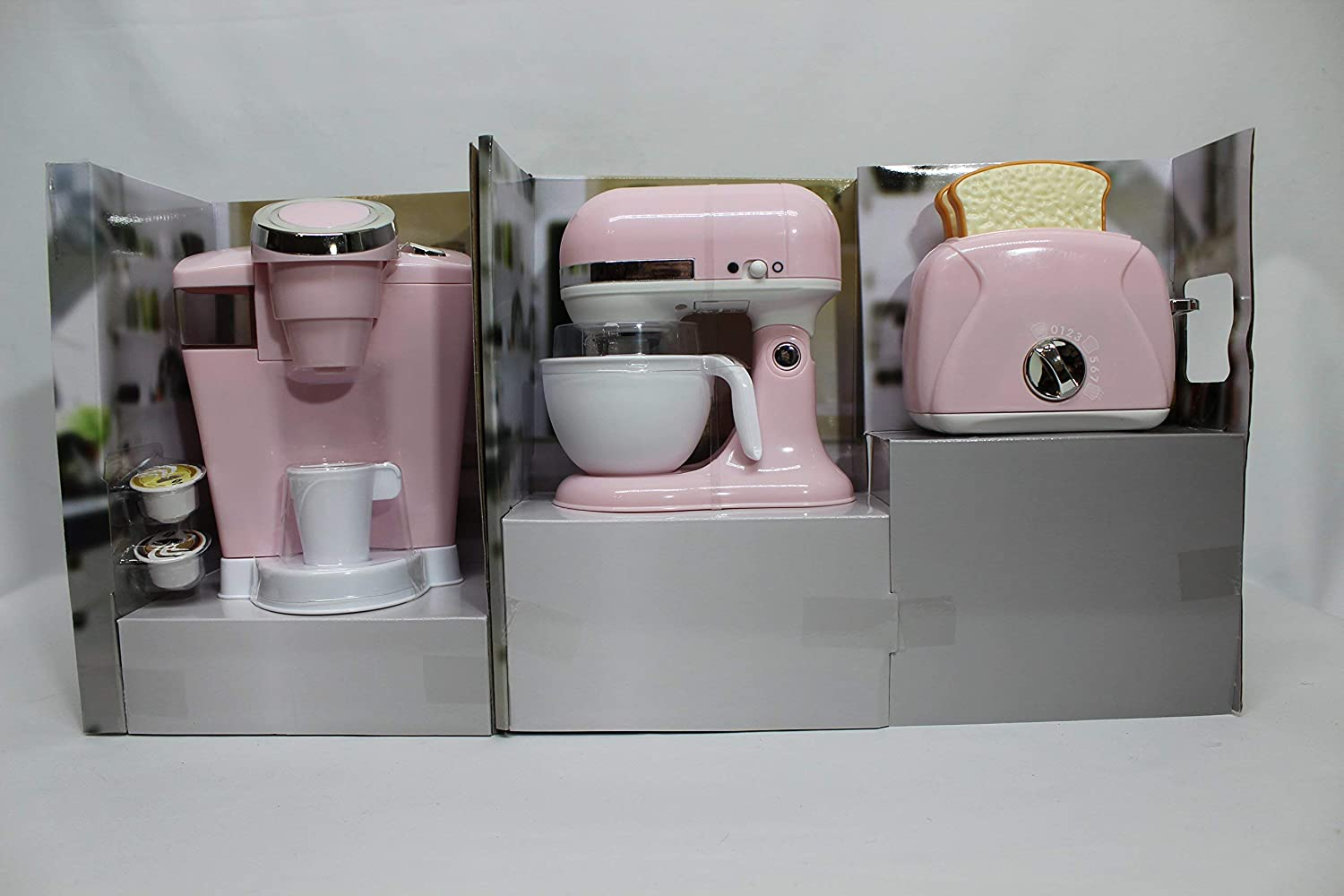 Gourmet Kitchen Appliance Set Playgo 3 Pc Kitchen Toys Cooking Baking Kits Agtcorp Com