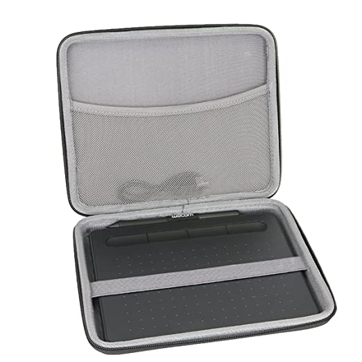 Hard Case for Wacom Intuos Draw/Art/Comic/Photo/Bamboo Small 490 Series Drawing and Graphics Tablet by CO2CREA-Size S