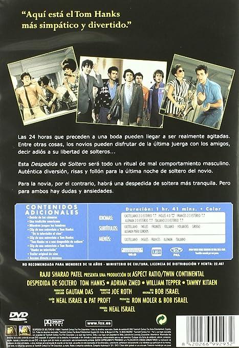 Despedida De Soltero [DVD]: Amazon.es: Adrian Zmed, Tom ...