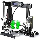 Poncherish A8 3D Drucker DIY Printer Desktop Farbdruck Printer Acryl LCD Bildschirm Kit Drucken Materialien 220x220x240 mm Druckraum 3D Drucker Printer with 1.75mm ABS/PLA
