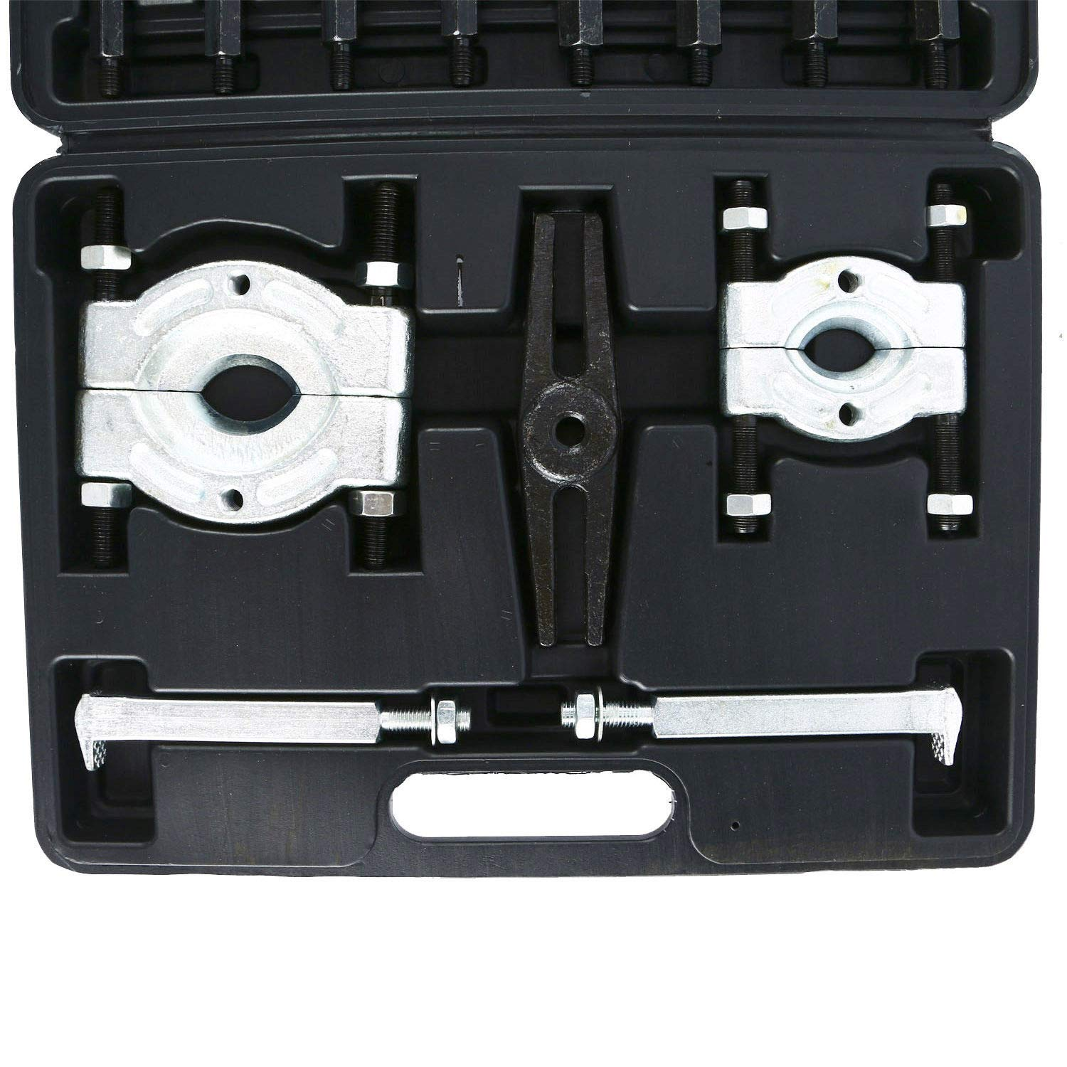 AWauto 14pcs Bearing Separator Puller Set 2'' and 3'' Splitters Remover and Bearing Kit
