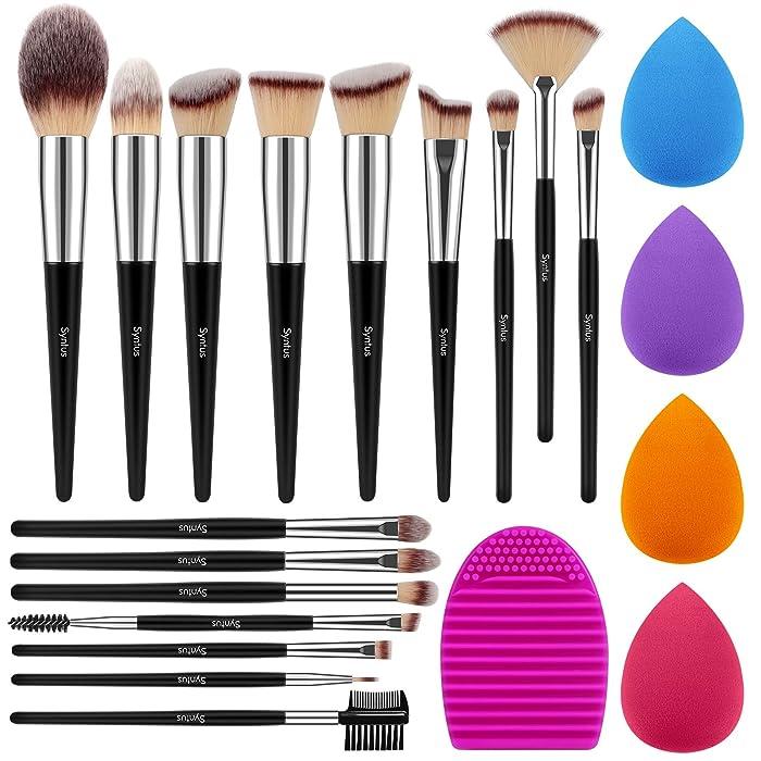 Top 10 Sunsenstone 4 Pcs Pro Beauty Flawless Makeup Blender