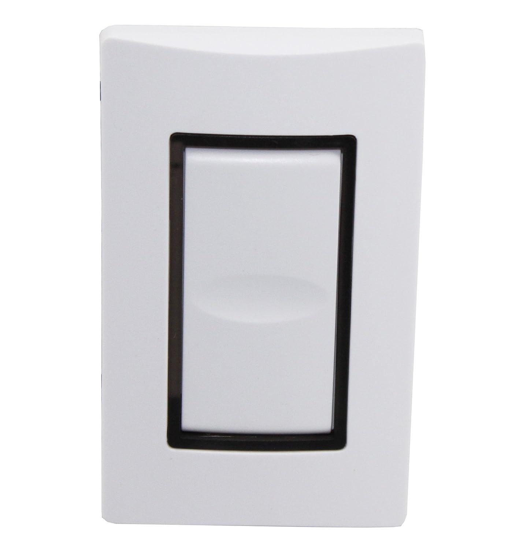 Wattstopper Hdls1Ss-7 White Lighting Integrator Single Dataline Pushbutton Switch