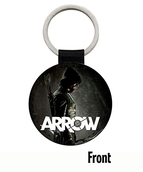 MasTazas Arrow Stephen Amell Llavero Keyring: Amazon.es ...