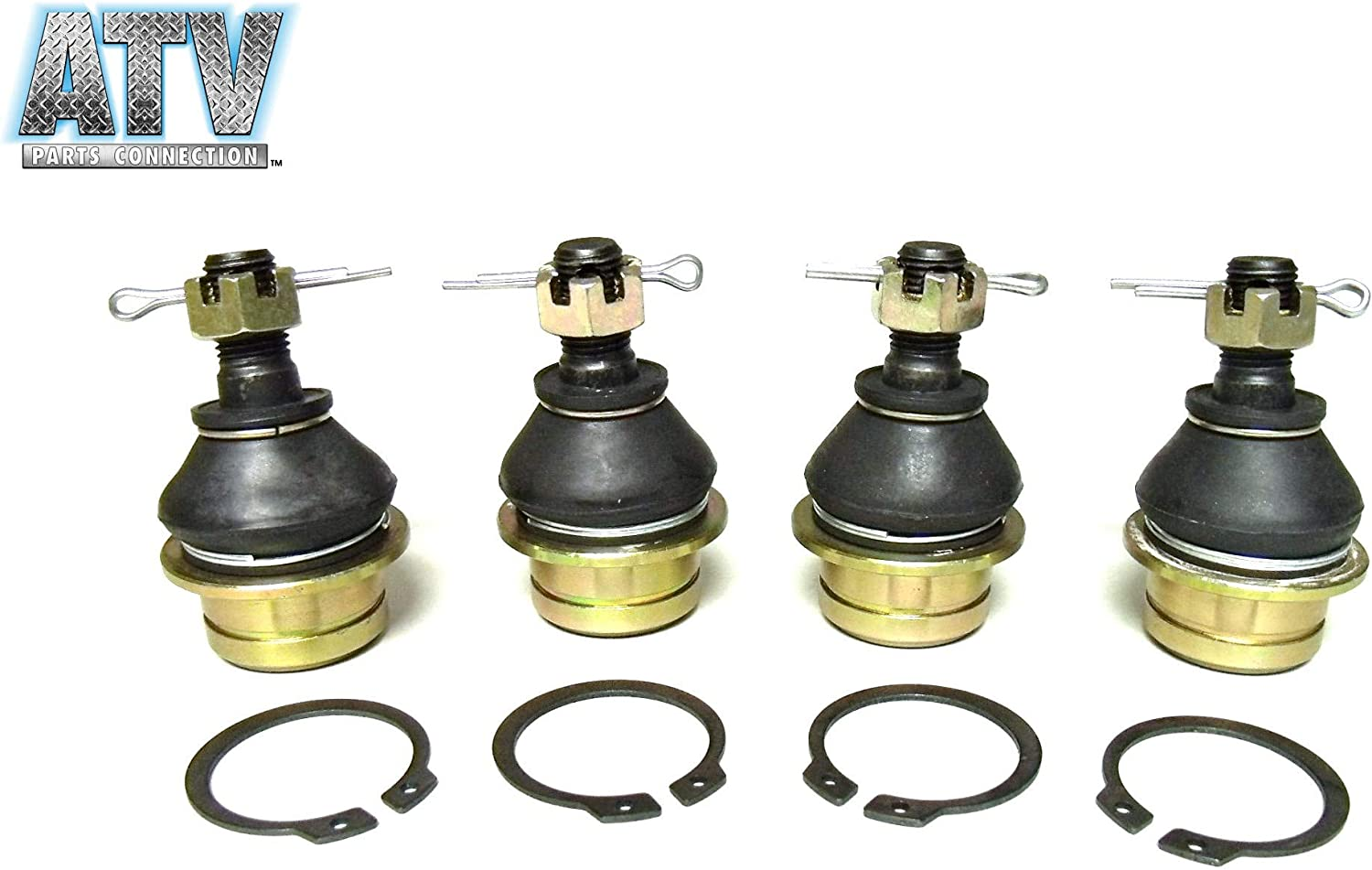 Complete Ball Joint Lower and Upper Kit for Suzuki LTA-450 X King Quad 2007-2010 All Balls