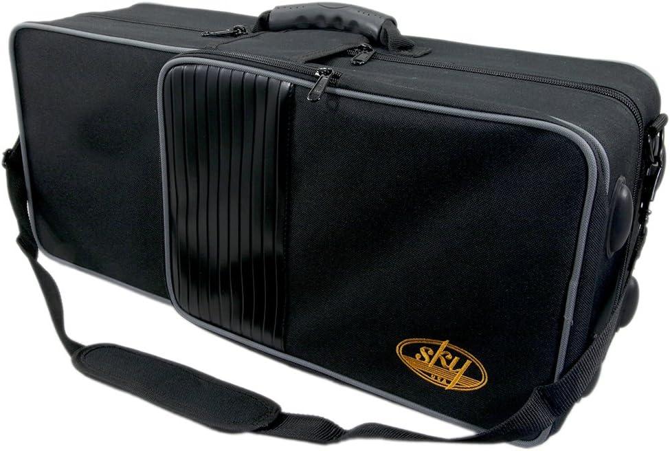 Sky Rain-Proof Trumpet Case Lightweight Gig Bag Box Backpack Adjustable Straps
