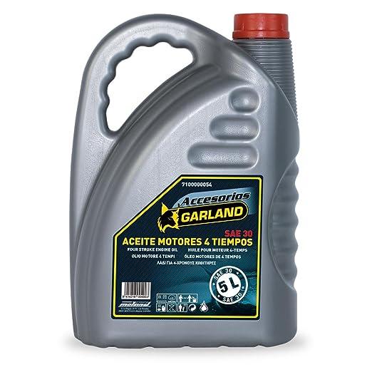 Garland - Aceite Motor 4t 5l: Amazon.es: Jardín