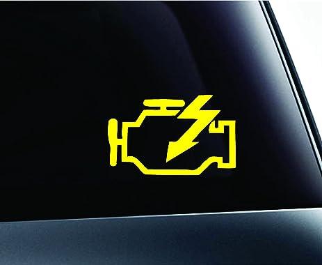 Amazon Check Engine Light Symbol Danger Mechanic Trouble