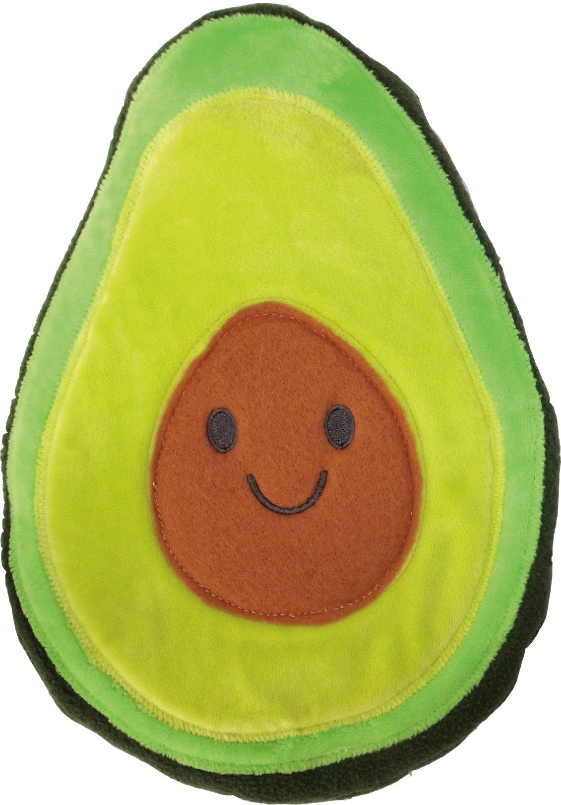 Gamago Huggable Avocado Pillow Heatable, Green/Brown by GAMAGO