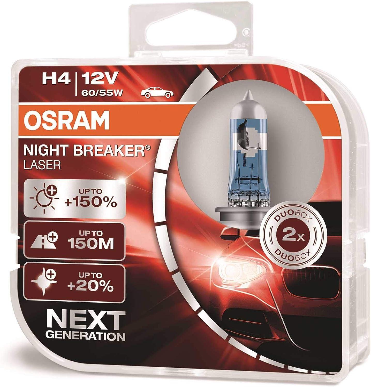 Scheinwerfer Set links /& rechts H4 f/ür Getz TB inkl Osram Lampen