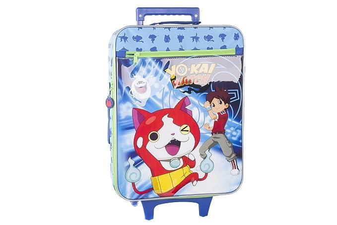 Maleta semirrígida YO KAI WATCH NATHAN azul mini equipaje de mano ryanair VS115