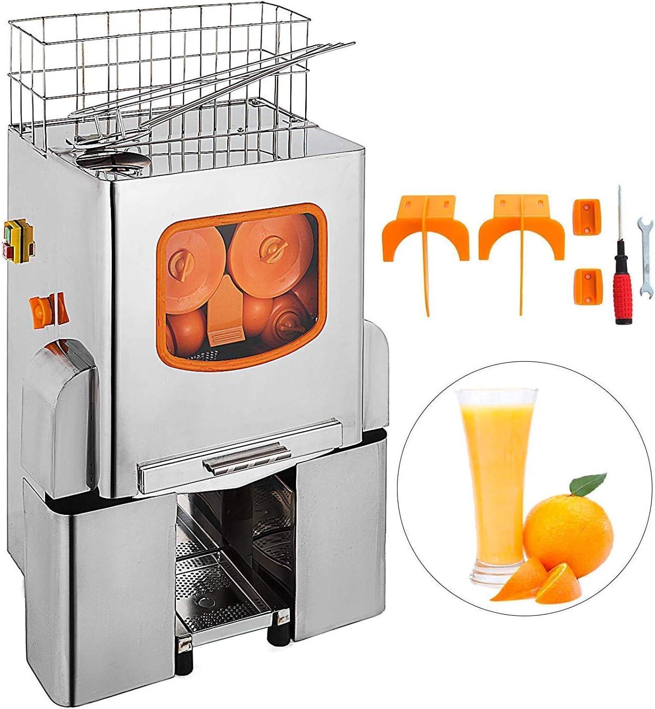 Moracle Licuadora Exprimidor Comercial Exprimidor de Naranja ...