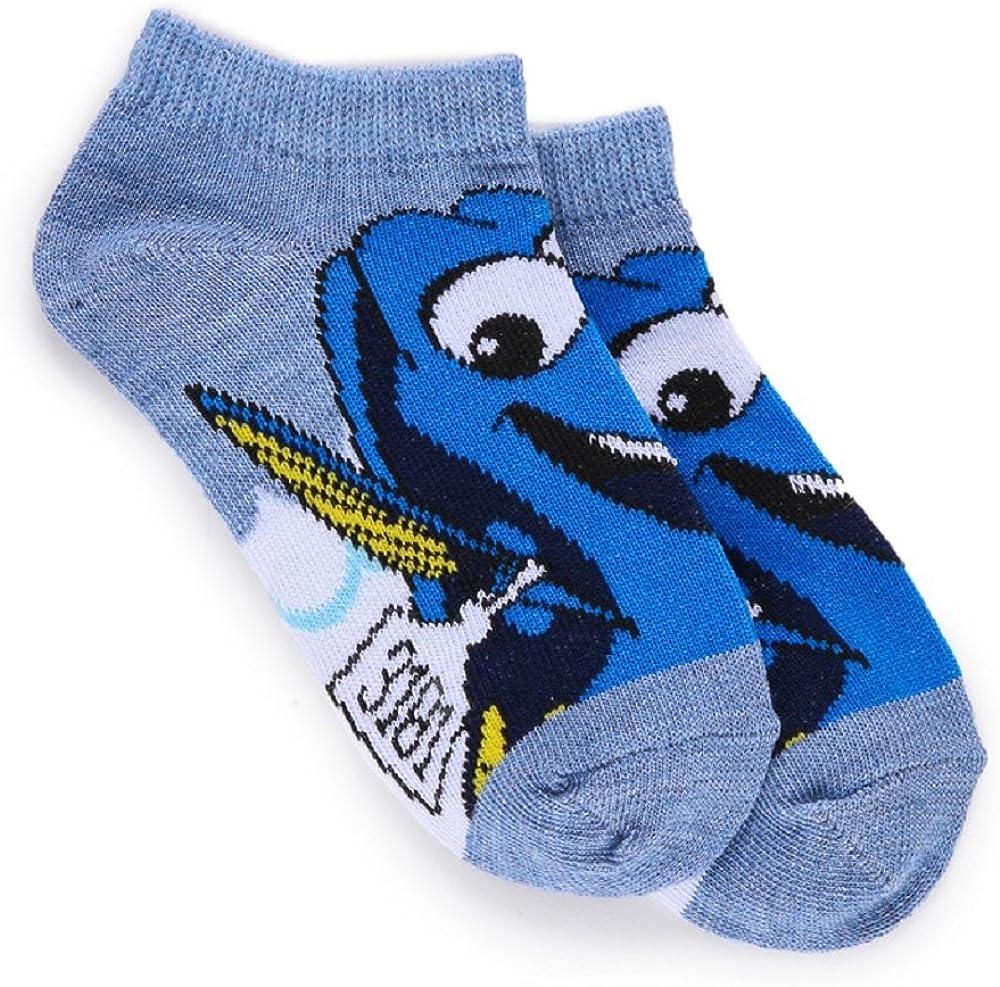 Disney Pixar Finding Dory Nemo Childrens Socks Multi-Pack 4-6